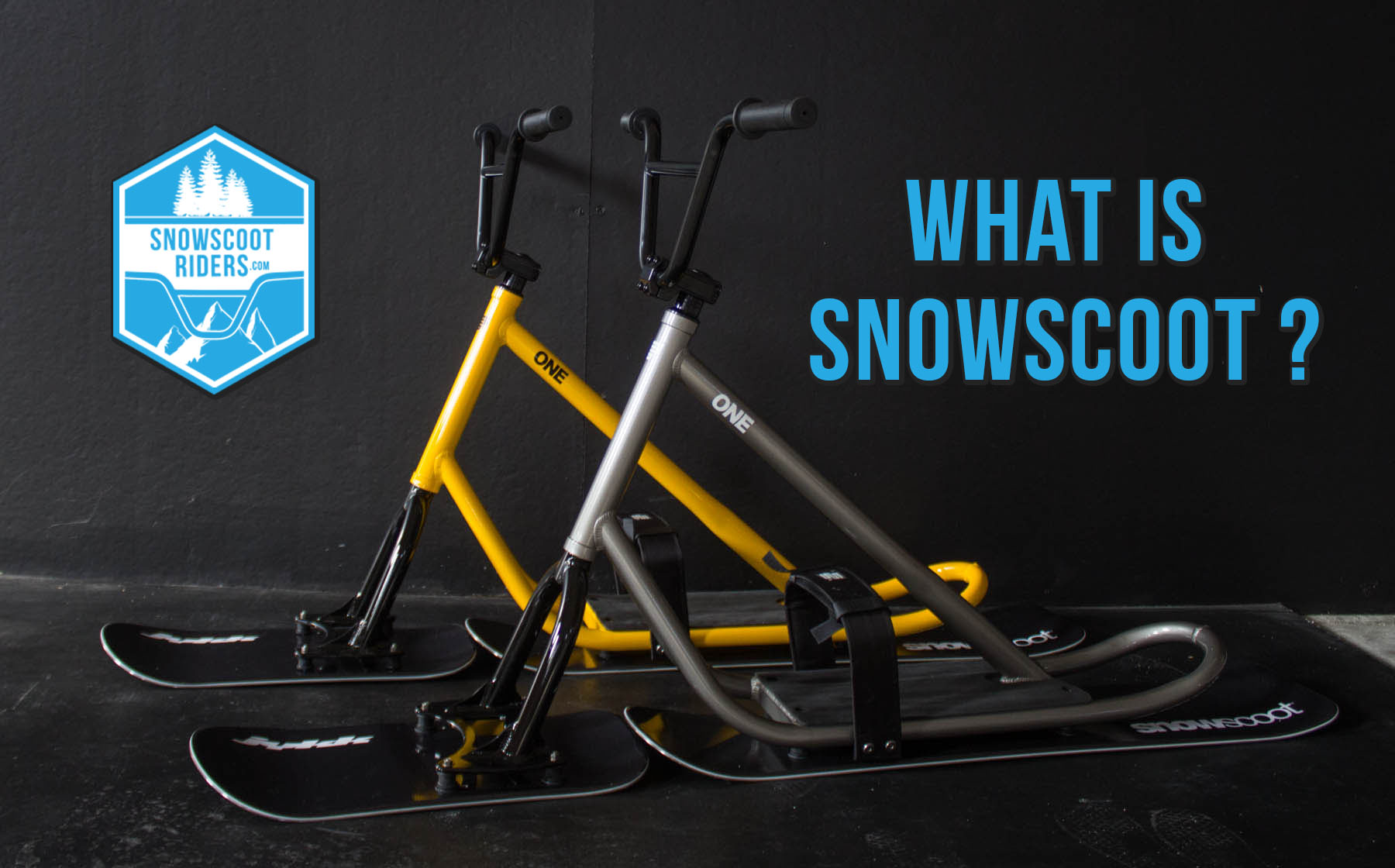 What is snowscoot?